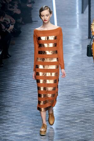 Показы мод Sonia Rykiel Осень-зима 2011-2012 | Подиум на ELLE - Подиум - фото 2145