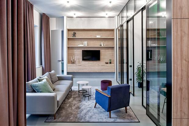 Квартира 99 м²: проект Леры Бруминой (фото 17)