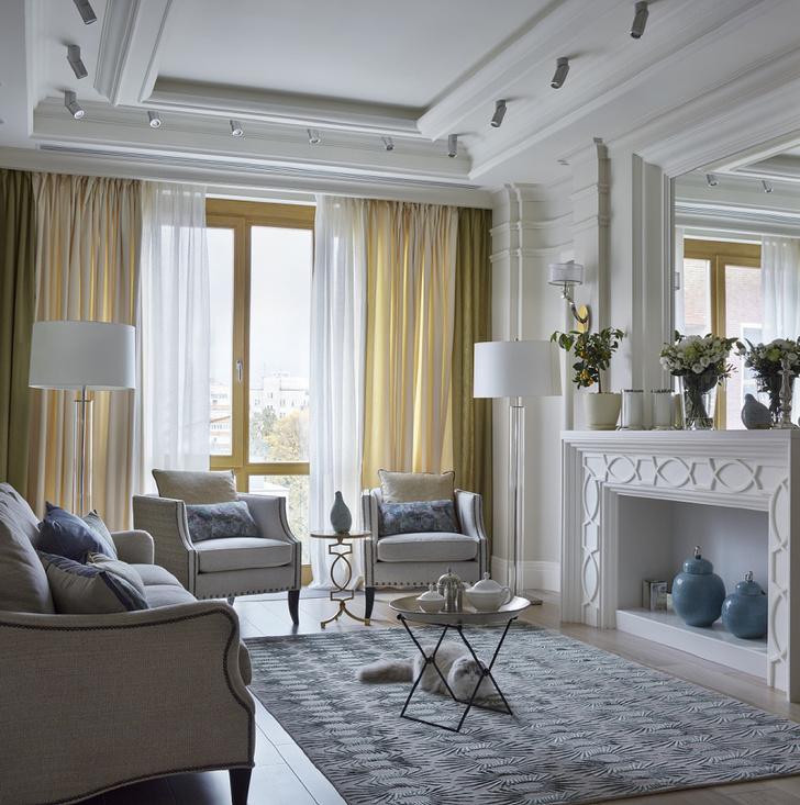 Квартира в стиле американской классики