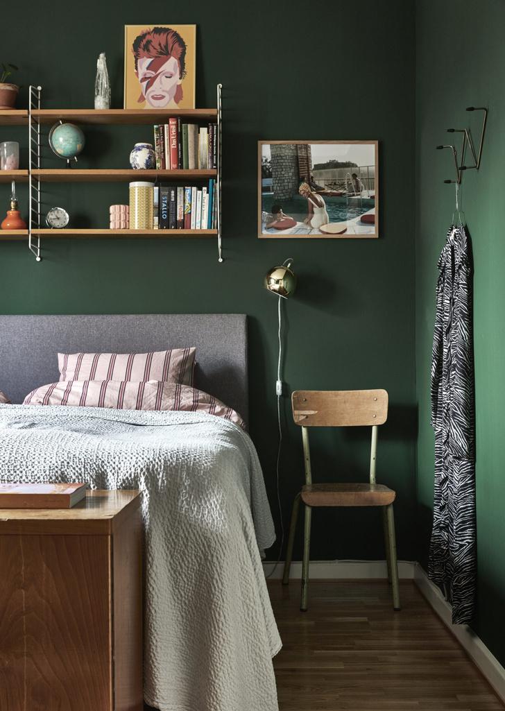 Квартира с винтажной мебелью в Стокгольме (фото 10)