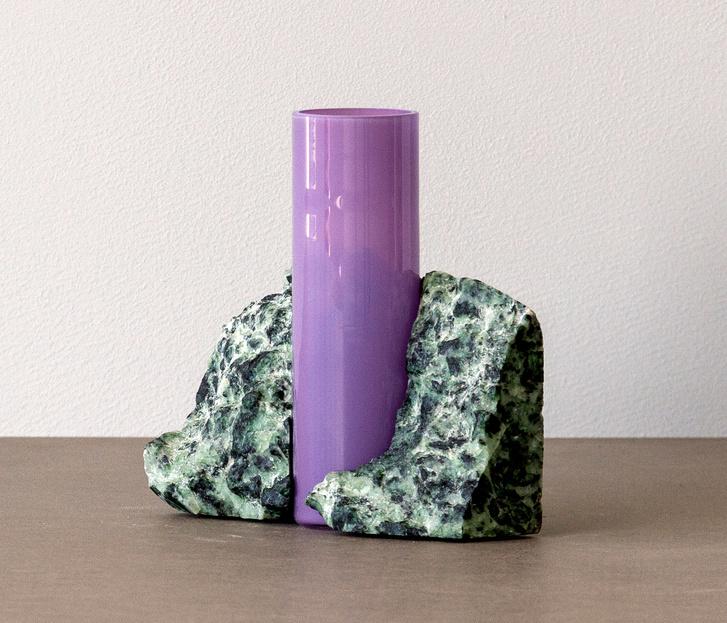 Стекло и мрамор: оригинальные вазы студии Studio EO (фото 7)