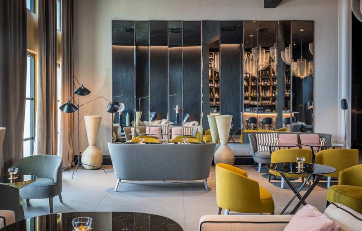Monograph: дизайн-отель с баром и рестораном в Тбилиси (фото 13)