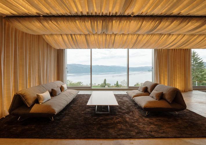 Отель по проекту Кенго Кумы на острове Хоккайдо (фото 9)