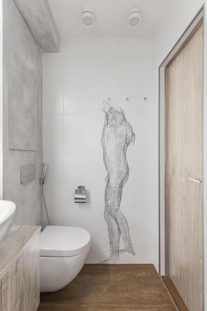 Эмоциональный минимализм: квартира 59 м² в Москве (фото 15)
