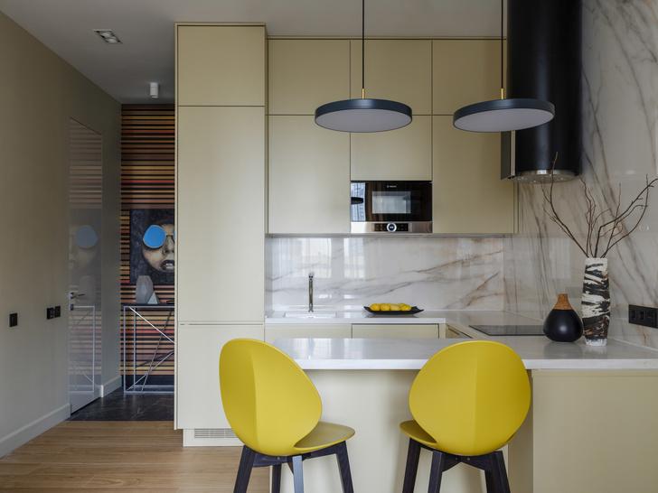 Современный минимализм: квартира 48 м² в Москве (фото 5)