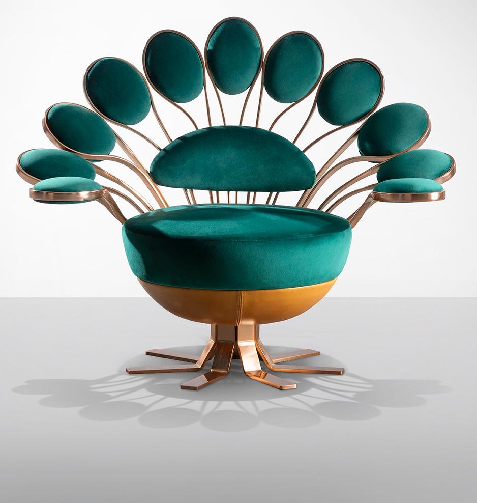 """Кресло """"Павлин"""" от Visionnaire (галерея 2, фото 5)"""