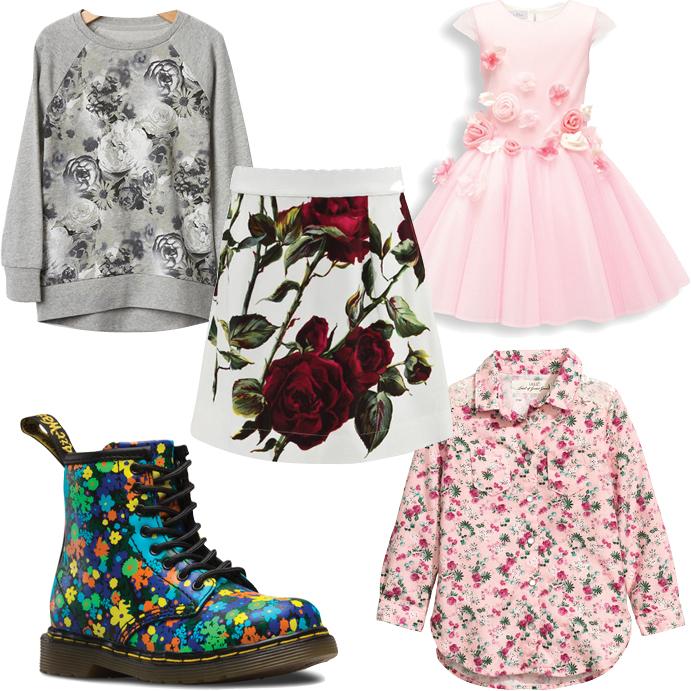 Выбор ELLE: GAP, Dolce&Gabbana, Dior kids, Dr Martens, H&M