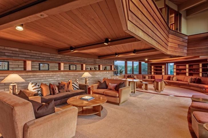 Дом по проекту Фрэнка Ллойда Райта на Гавайях (фото 7)