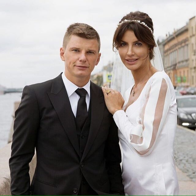 свадьба аршавина и казьминой фото