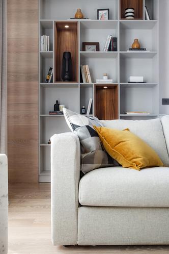Квартира 77 м² в стиле минимализм (фото 1)