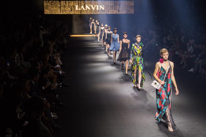 Показ Lanvin, весна-лето 2016