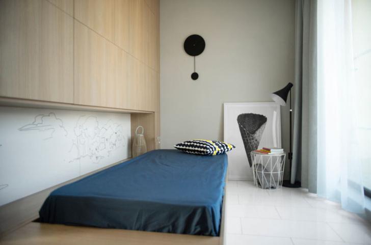 Минималистичная квартира 48 м² в Софии (фото 7)