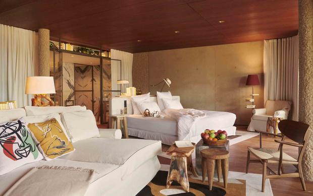 Отель по проекту Филиппа Старка на французской ривьере (фото 2)