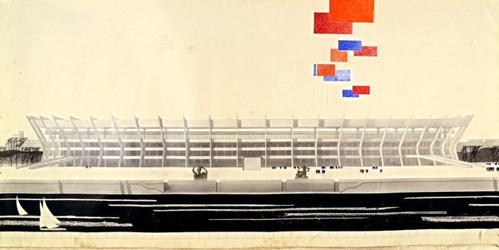 Выставка «Архитектура футбольных стадионов. От авангарда к современности» (фото 0)