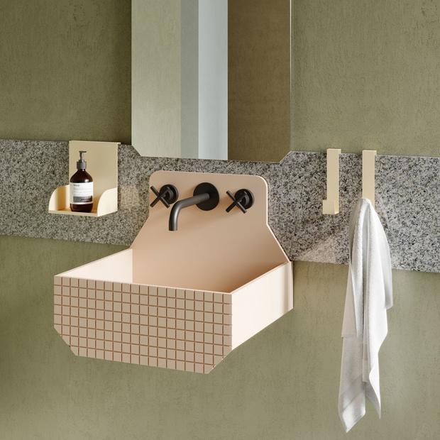 Ванная комната в стиле Роя Лихтенштейна от Ex.t (фото 7)