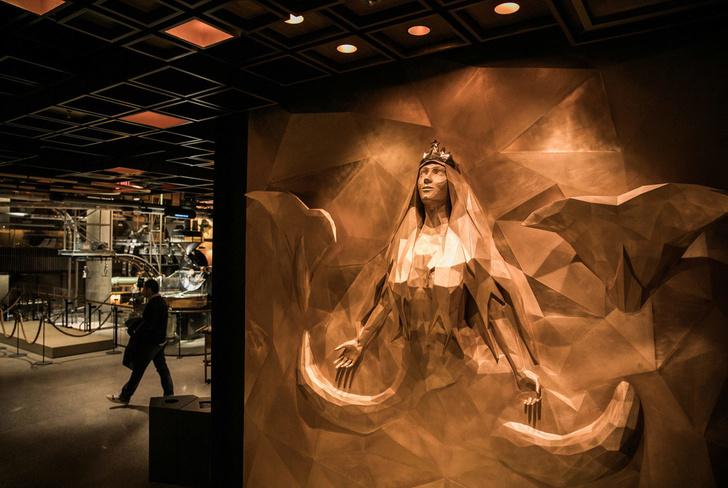 Starbucks в Нью-Йорке: кафе и обжарочный цех (фото 5)
