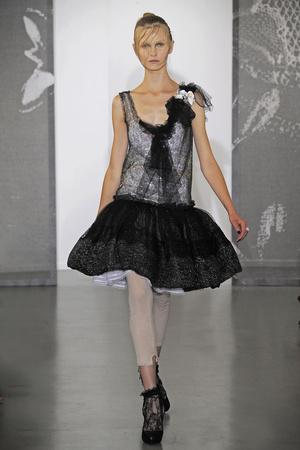 Показ Nina Ricci коллекции сезона Весна-лето 2010 года Prêt-à-porter - www.elle.ru - Подиум - фото 129764