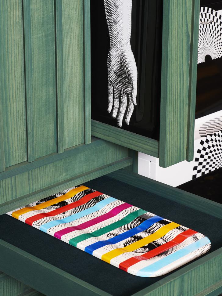 Новый бутик Fornasetti в универмаге Harrods (фото 6)