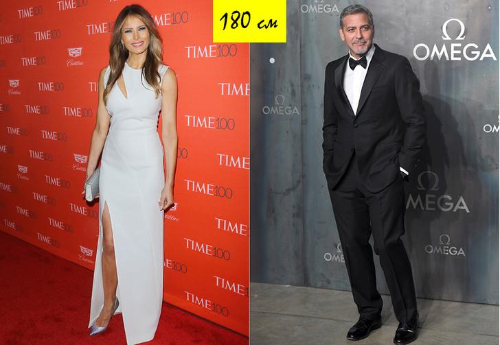 Мелания Трамп и Джордж Клуни