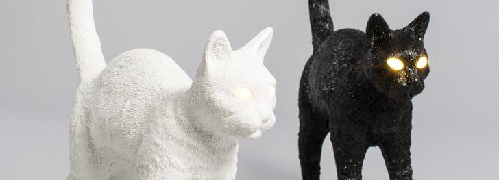 Лампы-коты —  Studio Job для Seletti (фото 2)