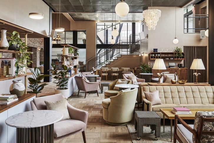 Как дома: отель The Hoxton в Бруклине (фото 0)