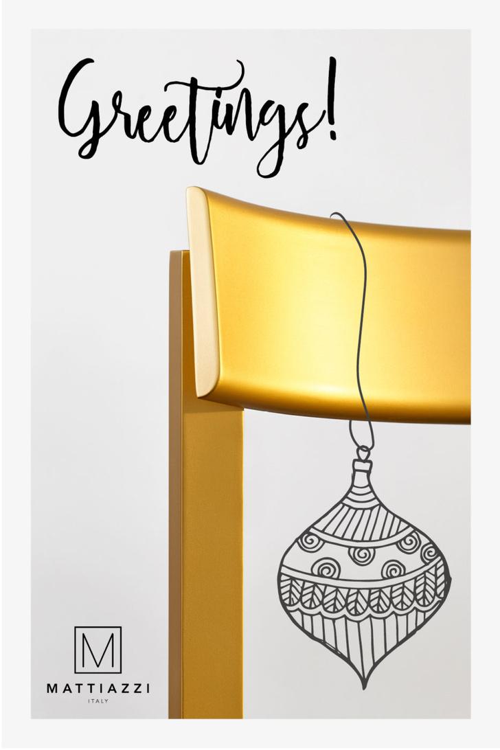 Рождественские открытки от знаменитых дизайнеров и архитекторов (фото 10)