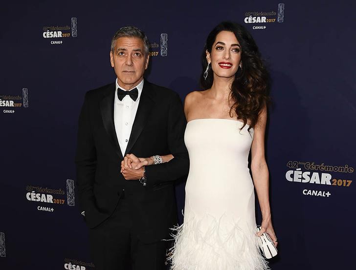 Джордж и Амаль Клуни: самые счастливые родителиДжордж и Амаль Клуни: самые счастливые родители