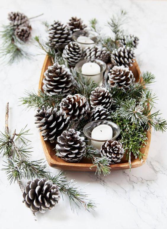 Рождественский декор из шишек: 25 идей и примеров (галерея 1, фото 3)