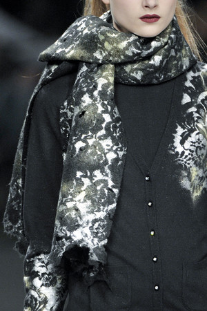 Показ Roccobarocco коллекции сезона Осень-зима 2011-2012 года Prêt-à-porter - www.elle.ru - Подиум - фото 256945