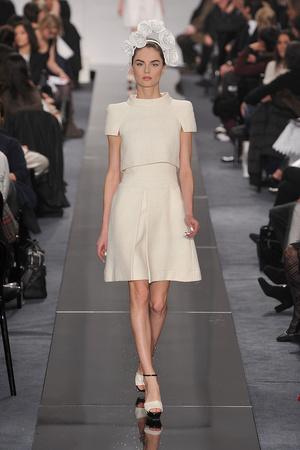 Показ  коллекции сезона Весна-лето 2009 года Haute couture - www.elle.ru - Подиум - фото 86325