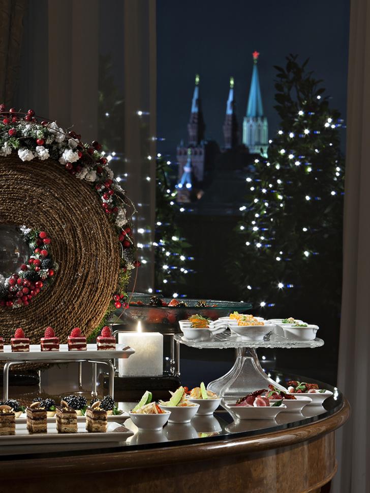 Планы на новогоднюю ночь: утонченные ужины в лучших отелях Москвы (фото 17)