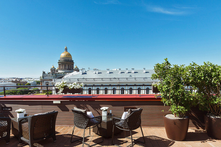 Голова в облаках: рестораны и бары на крыше (фото 5)
