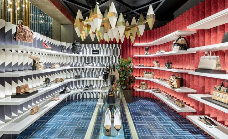 Бутик-головоломка Flannels в Лондоне (фото 5)
