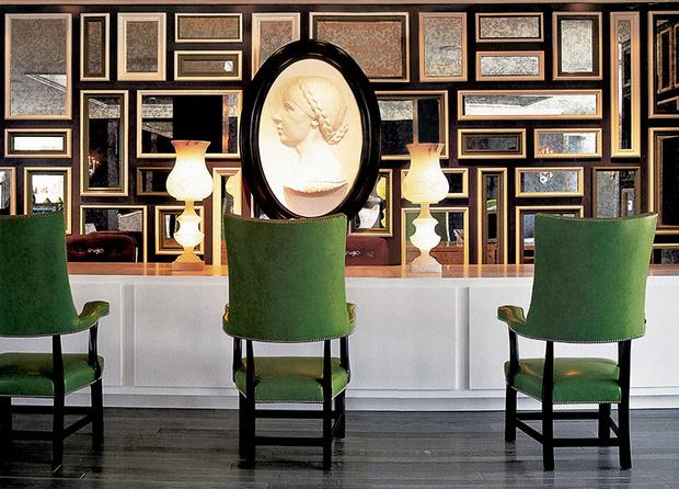 Отель Viceroy (Санта-Моника), дизайнер Келли Уэстлер.