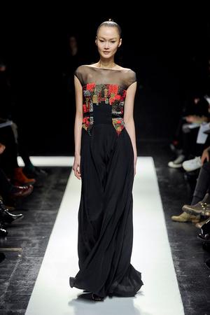 Показ Maxime Simoens коллекции сезона Весна-лето 2012 года Haute couture - www.elle.ru - Подиум - фото 333630
