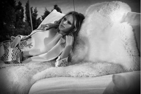 Дочь Шона Пенна Дилан стала лицом бренда Ermanno Scervino | галерея [1] фото [5]