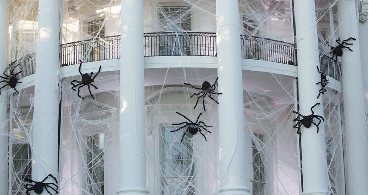 Дональд и Мелания Трамп отметили Хэллоуин в Белом доме фото [4]