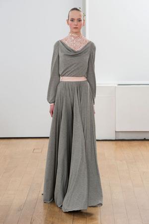 Показ Julien Fournie коллекции сезона Весна-лето 2014 года haute couture - www.elle.ru - Подиум - фото 574962
