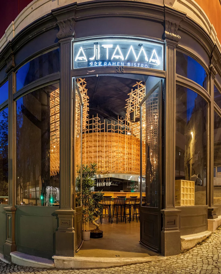 Лапшичная в Лиссабоне по проекту JCFS Architects (фото 2)
