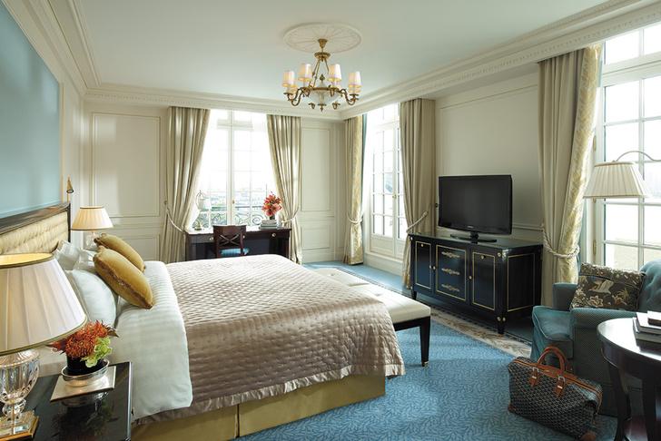 Сьют Deluxe Room гостиницы Shangri-La Paris