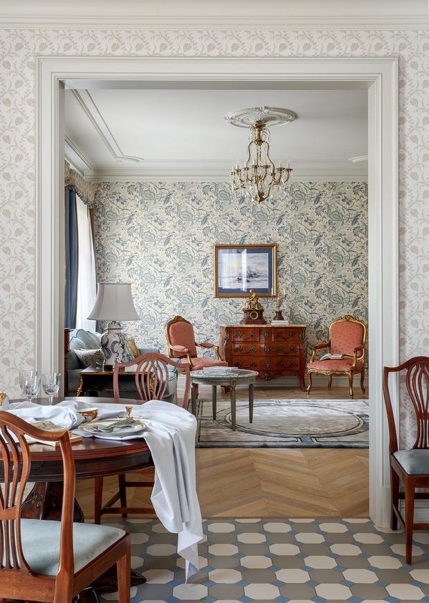 Вместе веселее: коттедж для двух семей в Подмосковье (фото 0)