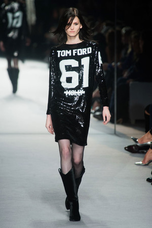 Показ Tom Ford коллекции сезона Осень-зима 2014-2015 года Prêt-à-porter - www.elle.ru - Подиум - фото 579076