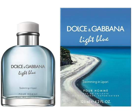 Dolce&Gabbana Light Blue Pour Homme Swimming in Lipari