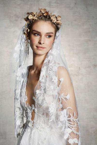 Wedding time: свадебные коллекции 2019 в стиле ретро (галерея 6, фото 7)