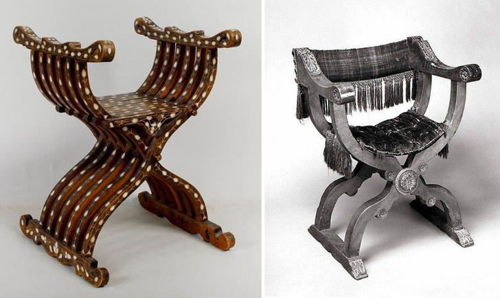Х-файл: история мебели со скрещенными ножками фото [6]