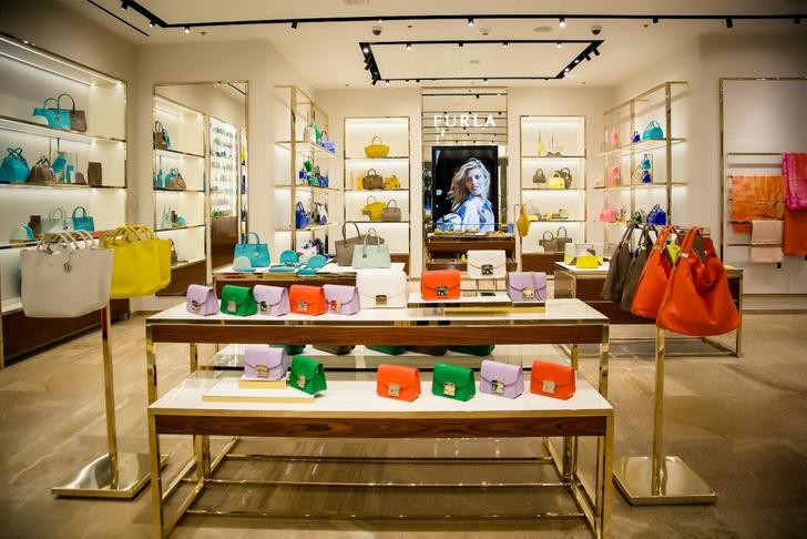 Бренд Furla открыл тринадцатый бутик в России