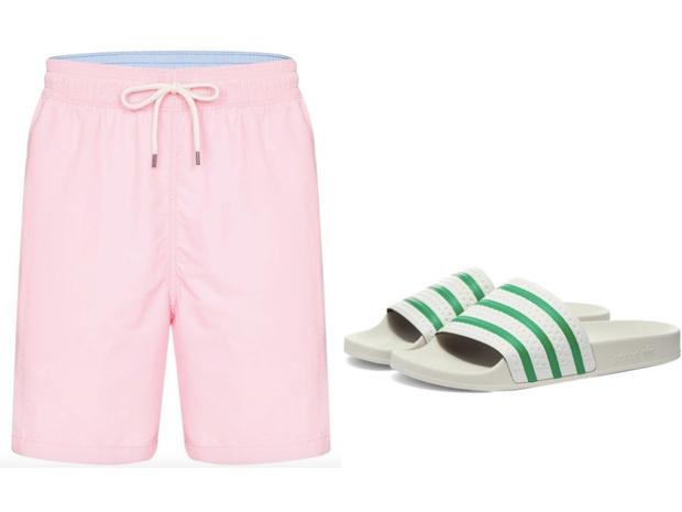 Самое летнее сочетание: шорты + слайдеры (фото 10)