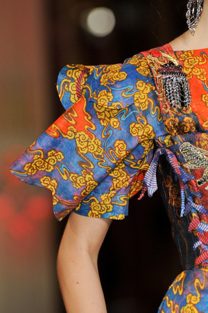 Показ Vivienne Westwood коллекции сезона Весна-лето 2013 года Prêt-à-porter - www.elle.ru - Подиум - фото 459017