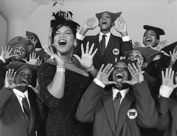 Куин Латифа и The Boys Choir of Harlem