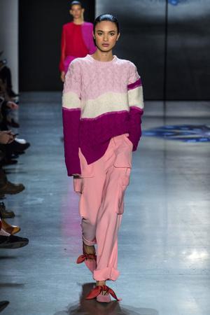 Показы мод Prabal Gurung осень-зима  2018-2019 | Подиум на ELLE - Подиум - фото 6221